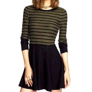 Express Sweater Skater Dress
